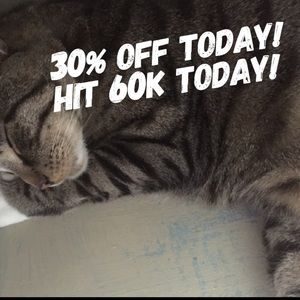 60k THANK YOU - today only 30% off